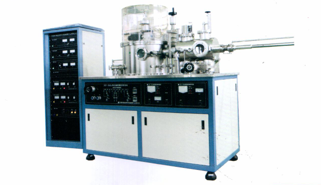 DXJ-560S Pyriform Double Chambers Magnetron Sputtering System